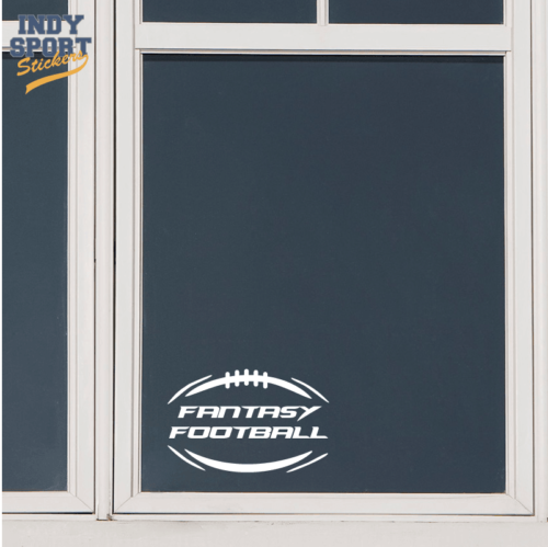 Silhouette Football Decal for cars, windows, laptops and more