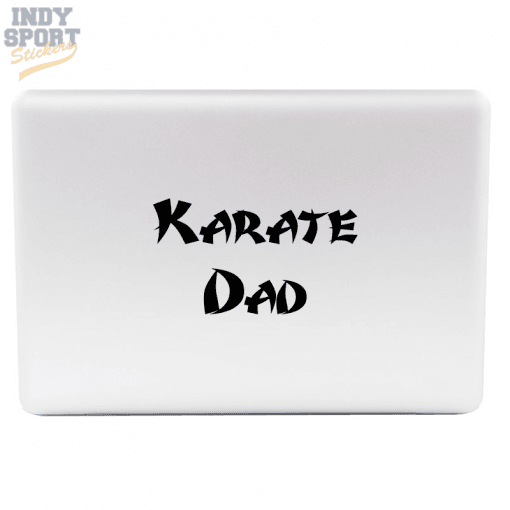 Silhouette Karate and Martial Arts Decal for cars, windows, laptops and more